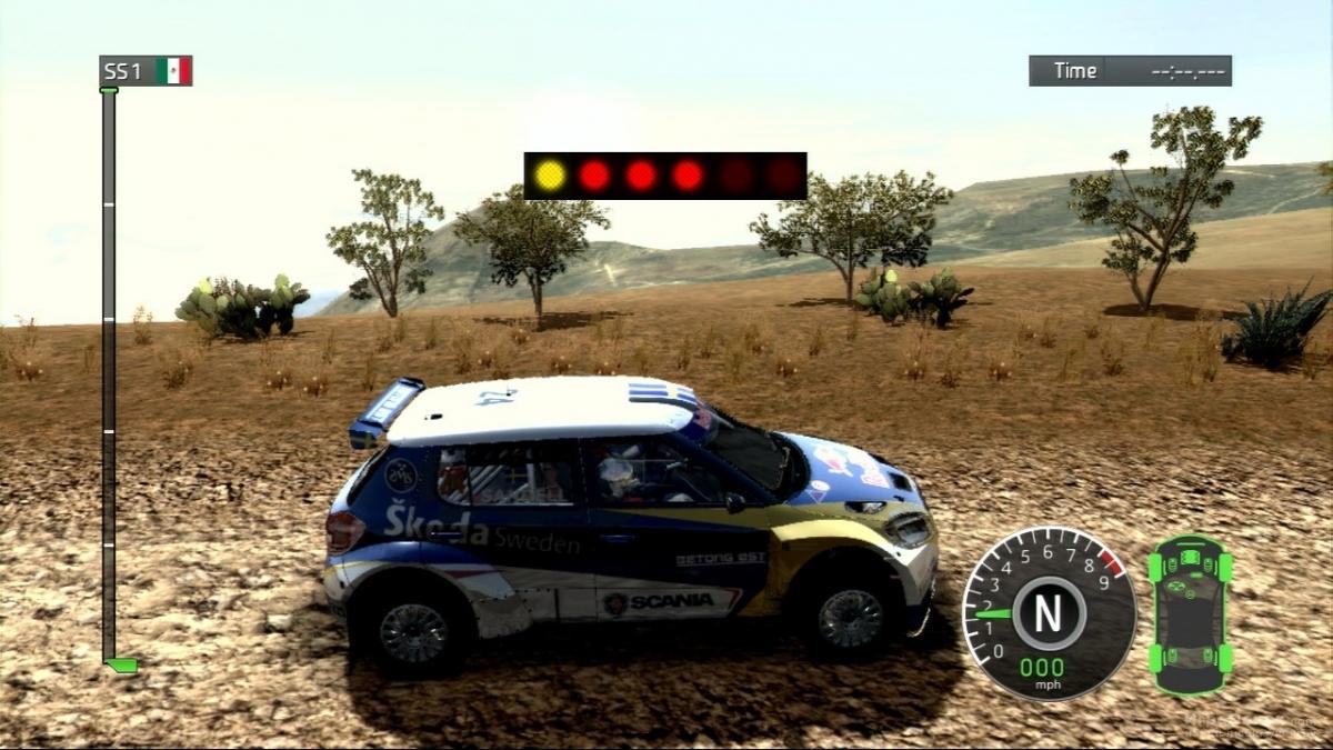 Скриншот к игре WRC: FIA World Rally Championship