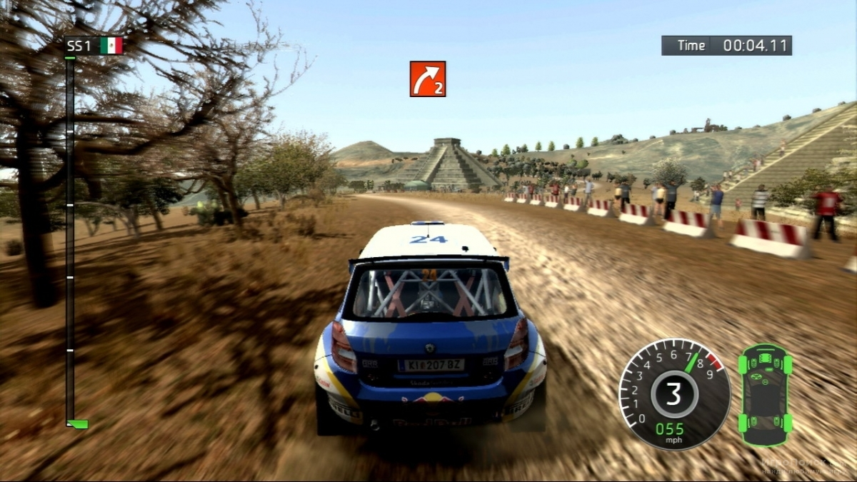 Скриншот к игре WRC: FIA World Rally Championship