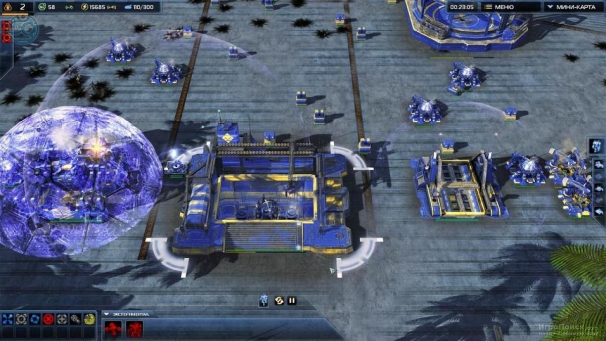 Скриншот к игре Supreme Commander