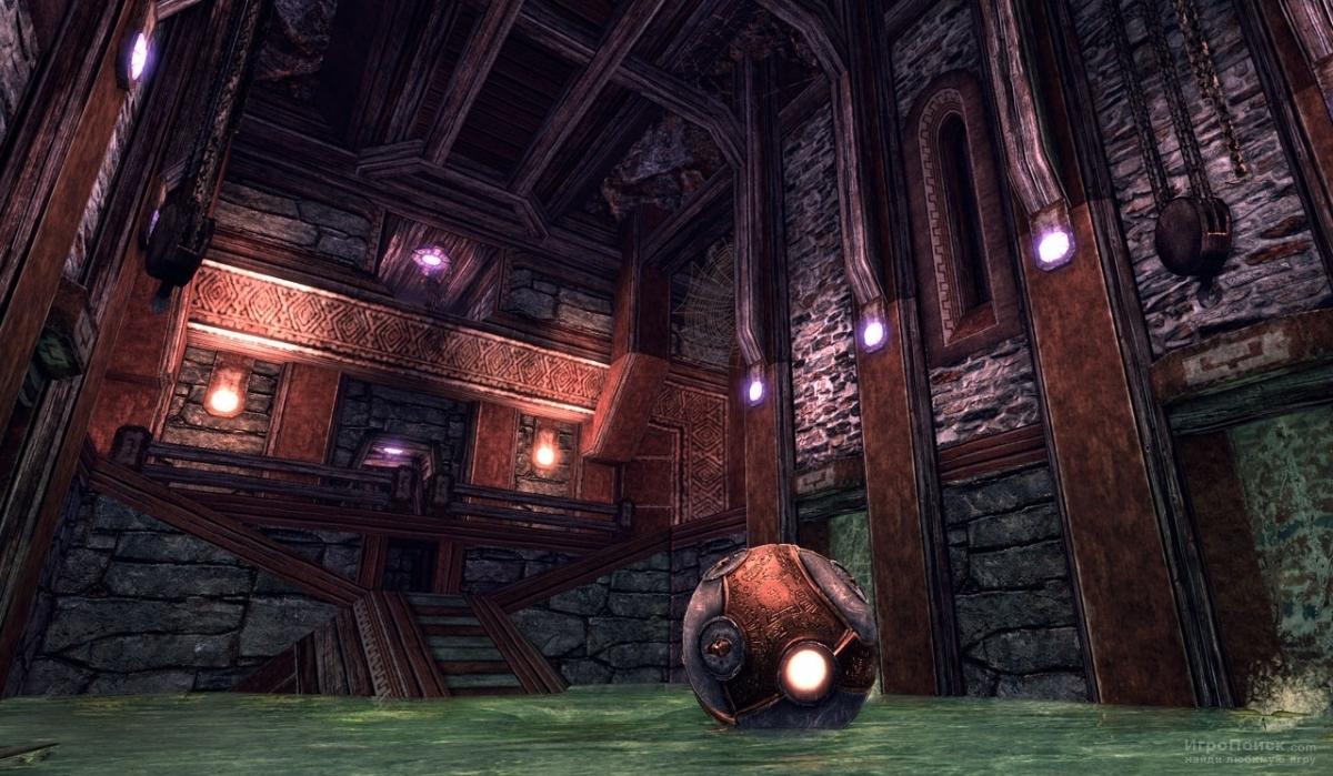 Скриншот к игре The Ball