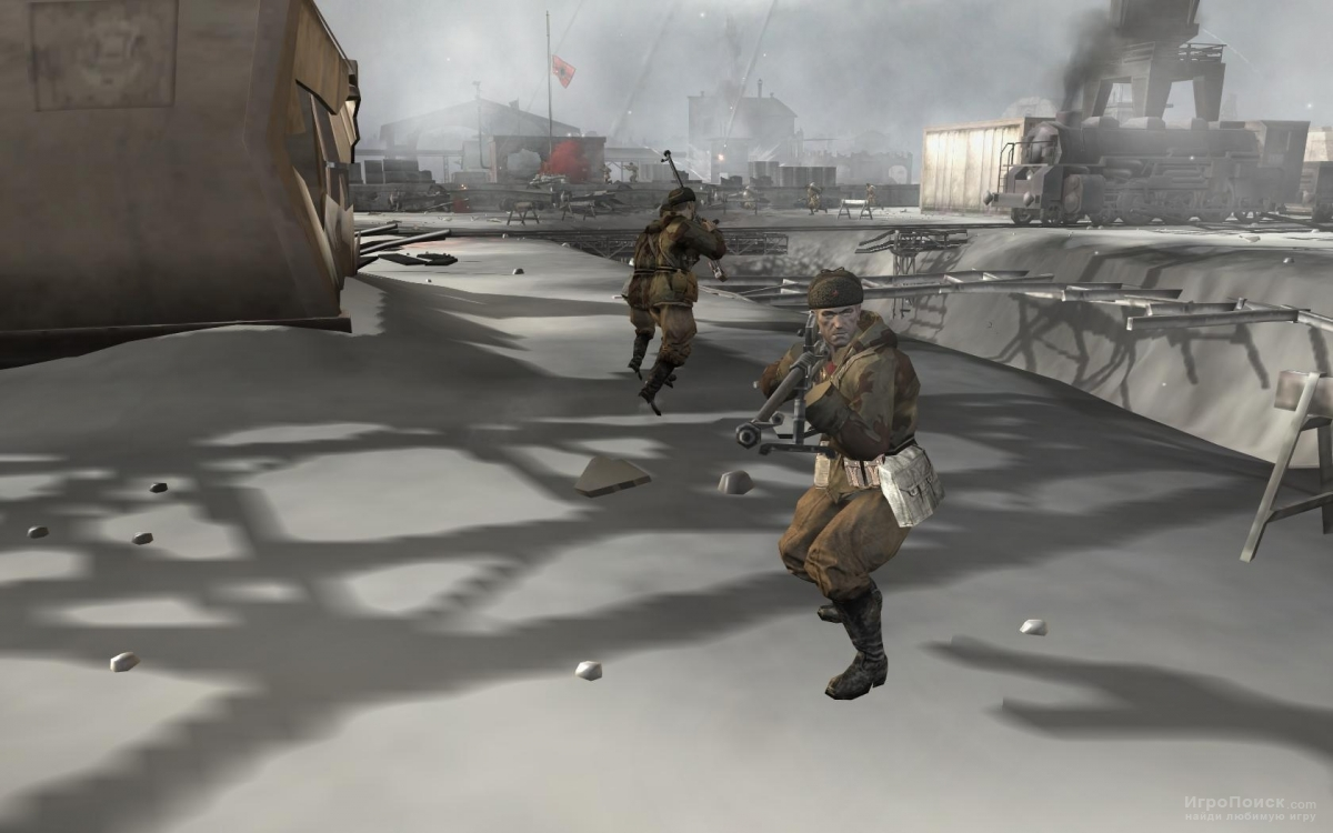 Скриншот к игре Company Of Heroes: Eastern Front