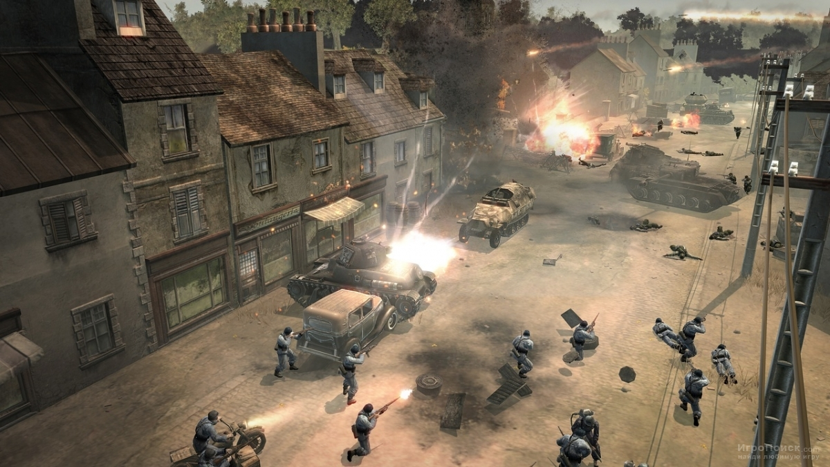 Скриншот к игре Company of Heroes: Tales of Valor