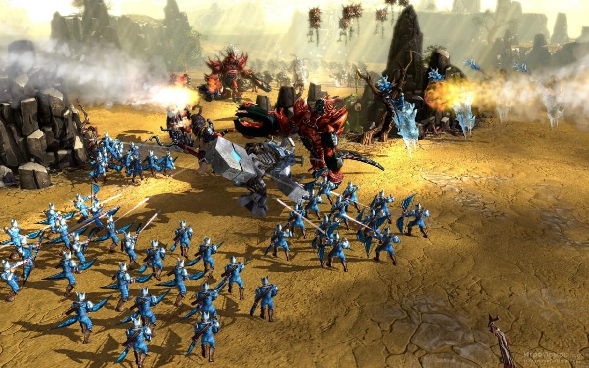 Скриншот к игре BattleForge