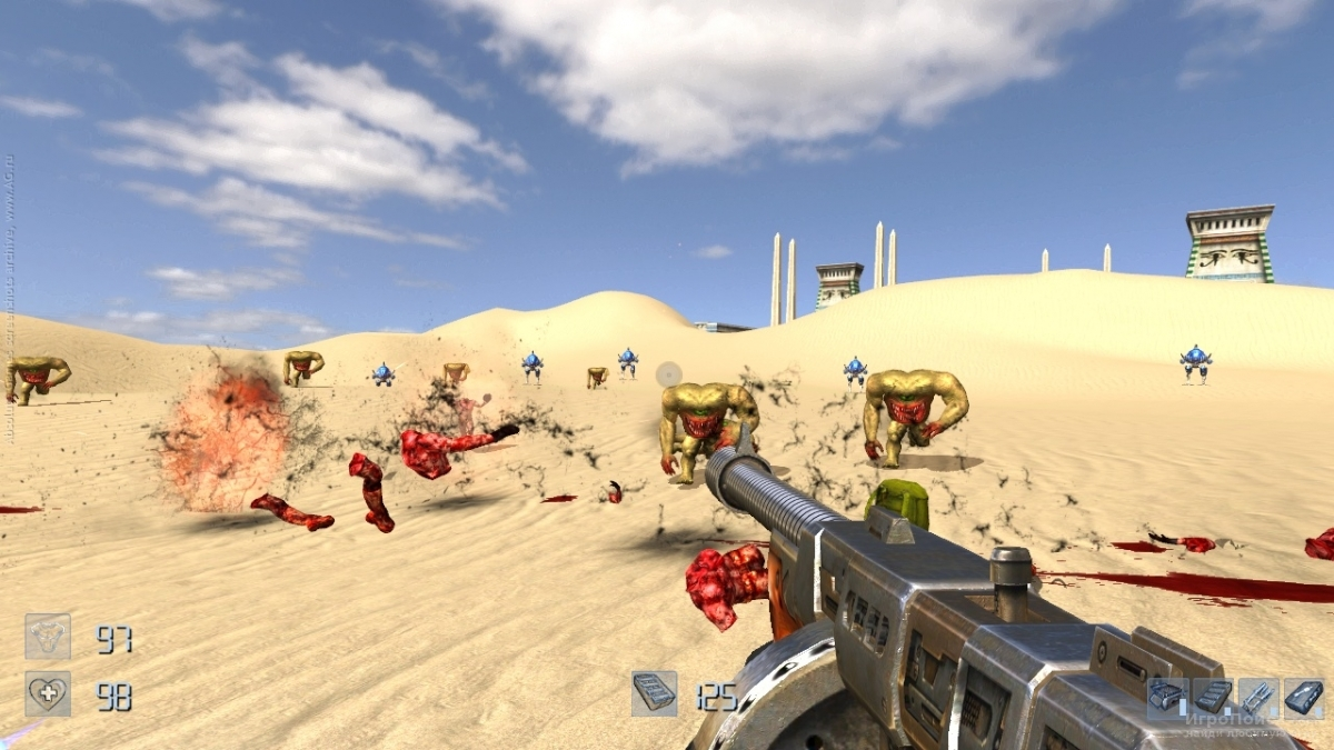 Скриншот к игре Serious Sam HD: The First Encounter