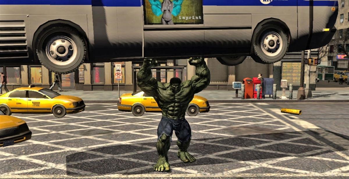 Скриншот к игре The Incredible Hulk