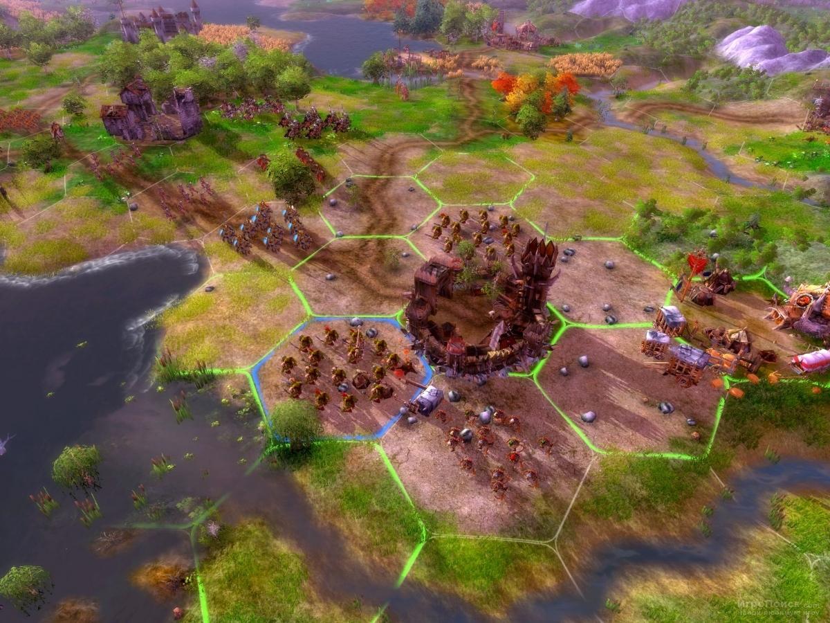 Скриншот к игре Fantasy Wars