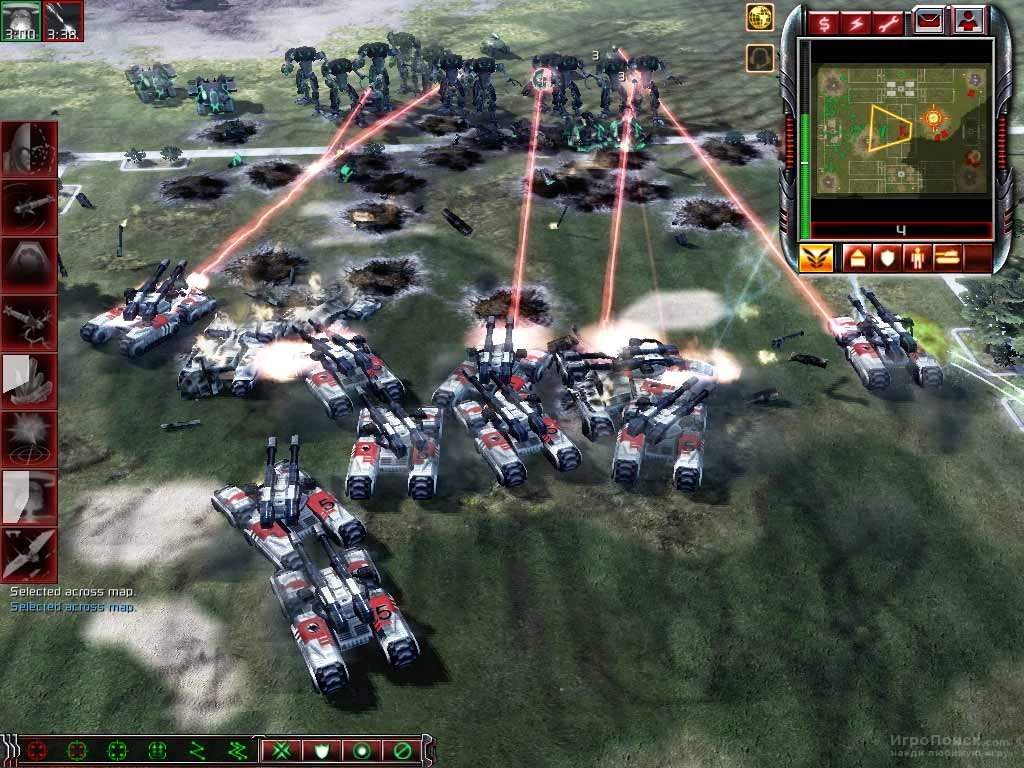 Скриншот к игре Command and Conquer 3: Tiberium Wars