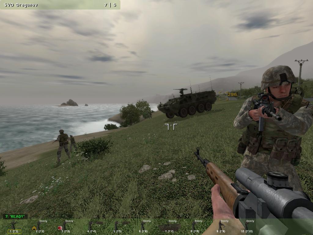 Скриншот к игре Arma: Armed Assault