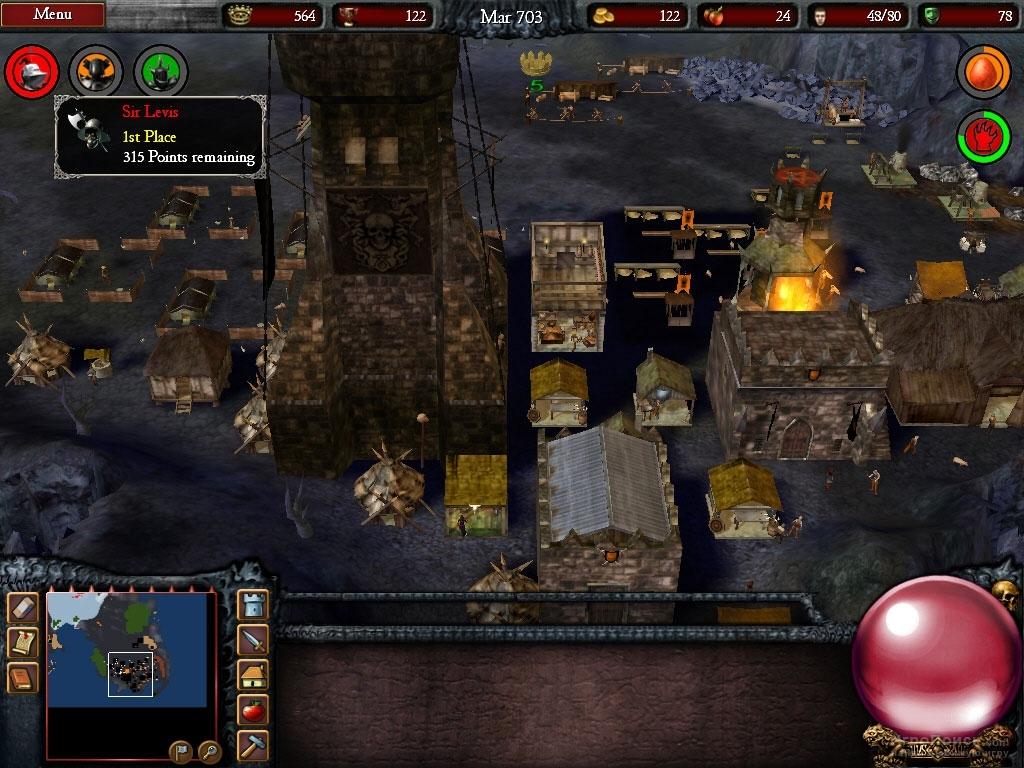 Скриншот к игре Stronghold Legends