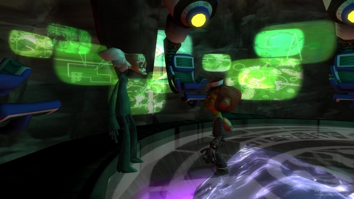 Скриншот к игре Psychonauts