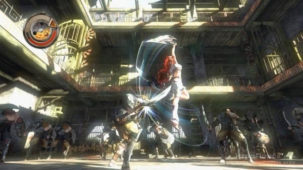Скриншот к игре Heavenly Sword