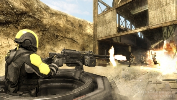Скриншот к игре Haze