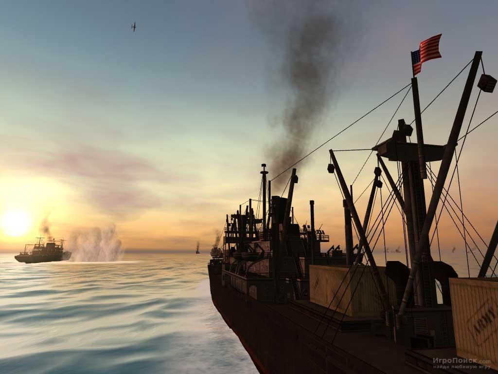 Скриншот к игре Silent Hunter 3
