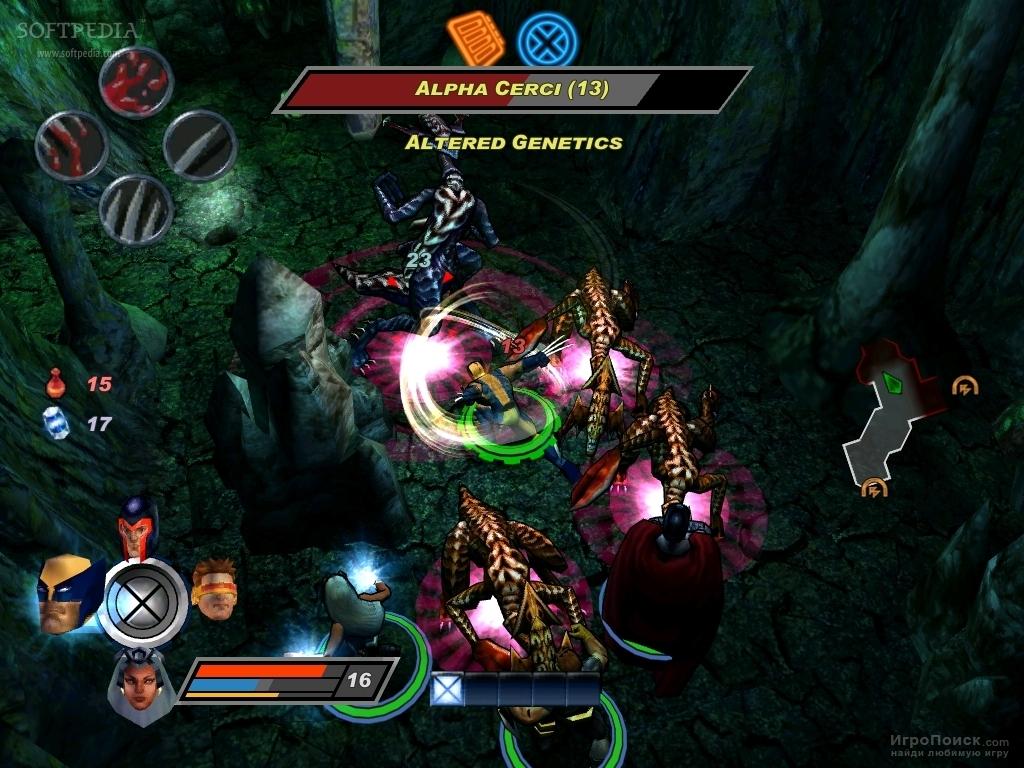 Скриншот к игре X-Men Legends II: Rise of Apocalypse