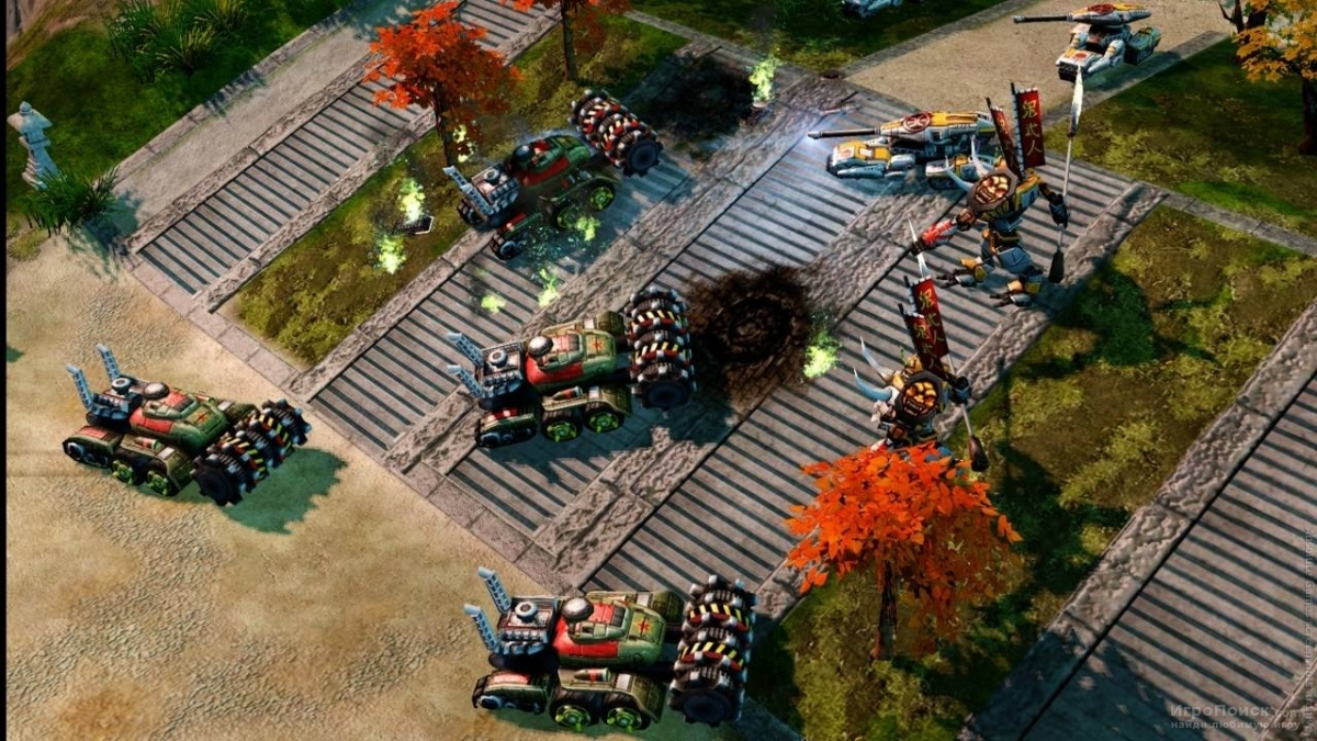 Скриншот к игре Command and Conquer: Red Alert 3