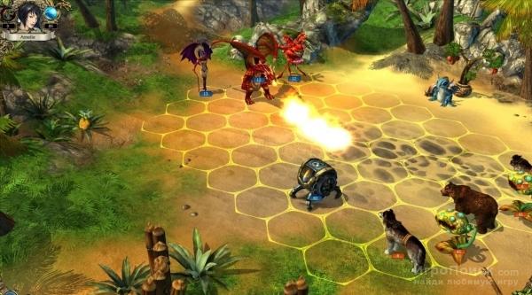 Скриншот к игре King's Bounty: The Princess in an Armor