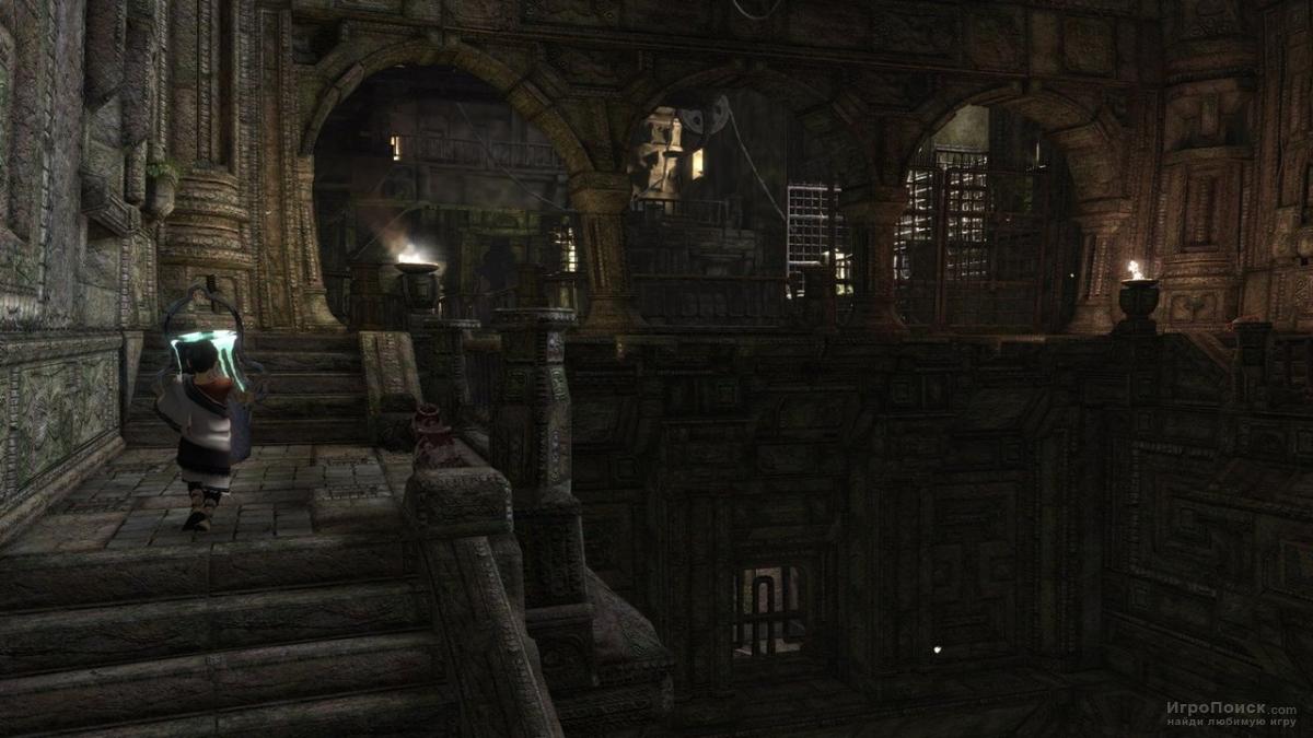 Скриншот к игре The Last Guardian