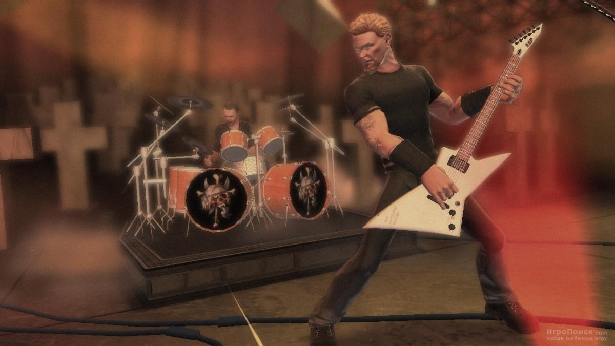 Скриншот к игре Guitar Hero: Metallica