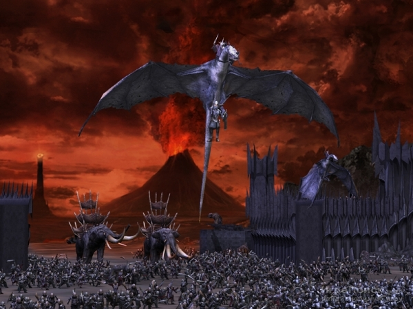 Скриншот к игре The Lord of the Rings: The Battle for Middle-earth