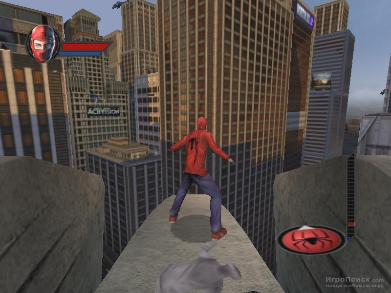 Скриншот к игре Spider-Man: The Movie