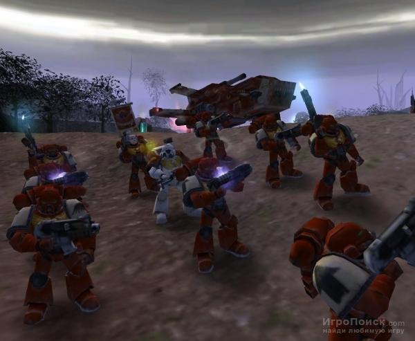 Скриншот к игре Warhammer 40,000: Dawn of War