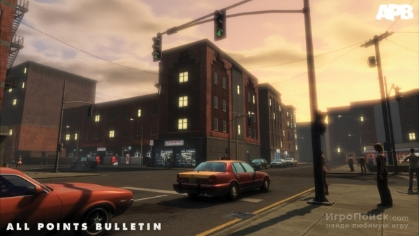 Скриншот к игре APB: All Points Bulletin