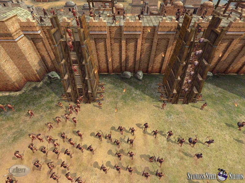 Скриншот к игре Rise and Fall: Civilizations at War