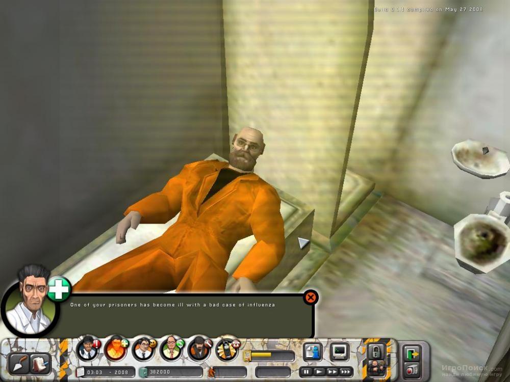 Скриншот к игре Prison Tycoon 4: SuperMax