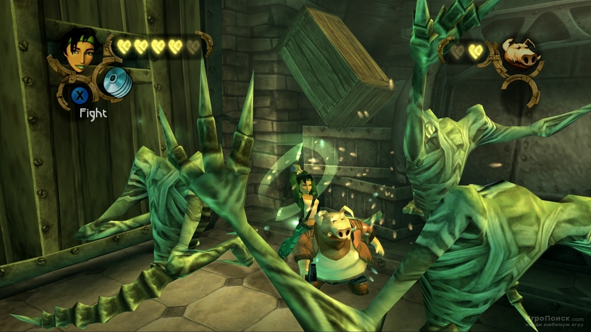 Скриншот к игре Beyond Good and Evil