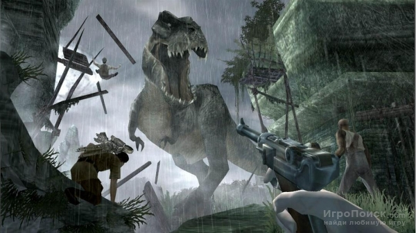 Скриншот к игре Peter Jackson's King Kong: The Official Game of the Movie