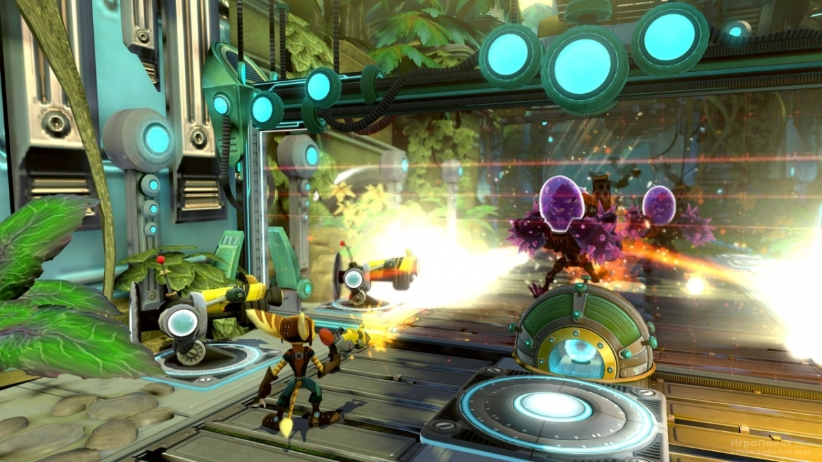 Скриншот к игре Ratchet and Clank: Full Frontal Assault