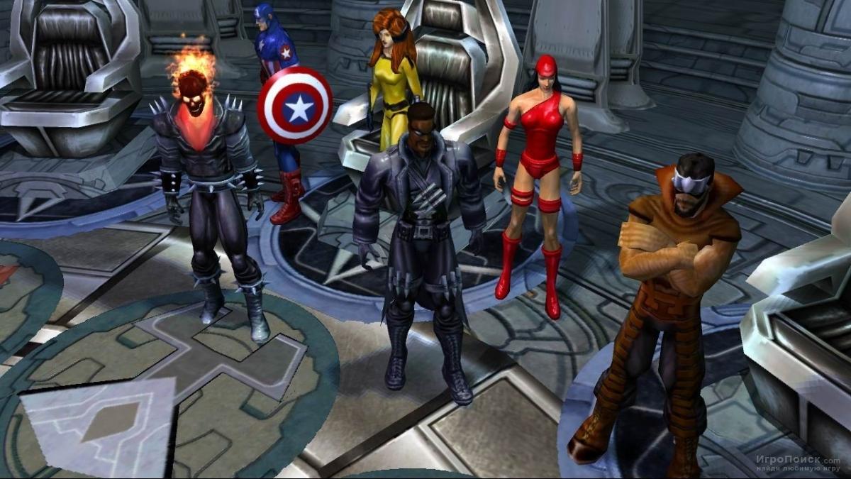 Скриншот к игре Marvel Ultimate Alliance