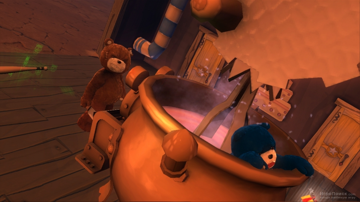 Скриншот к игре Naughty Bear