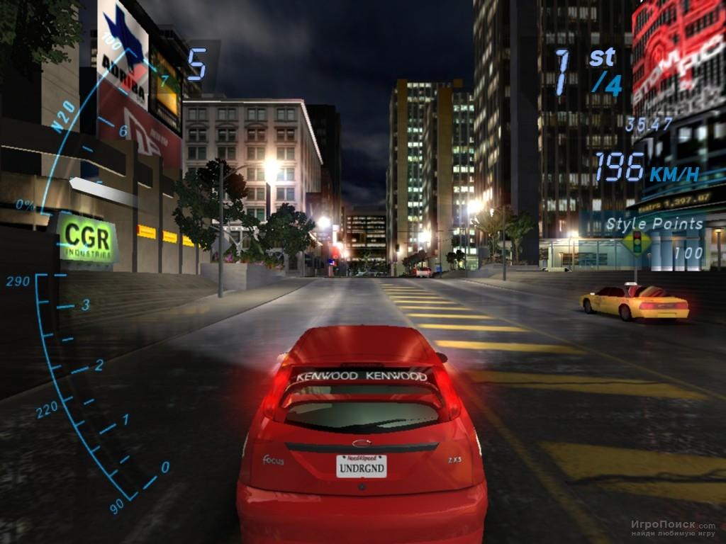 Скриншот к игре Need For Speed: Underground