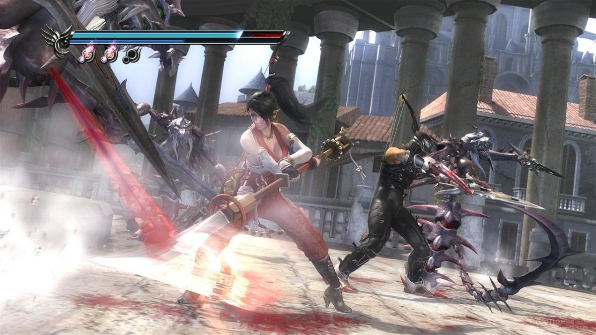 Скриншот к игре Ninja Gaiden Sigma 2