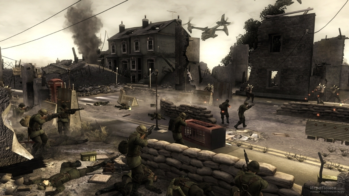 Скриншот к игре Resistance: Fall of Man