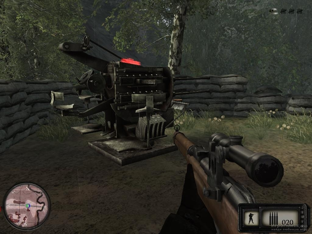 Скриншот к игре Sniper: Art of Victory