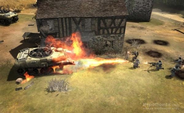 Скриншот к игре Company of Heroes: Tales of Valor
