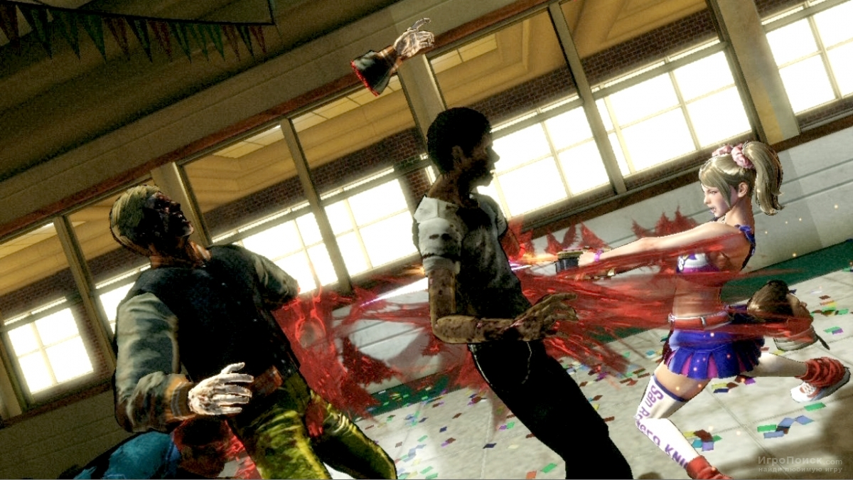 Скриншот к игре Lollipop Chainsaw