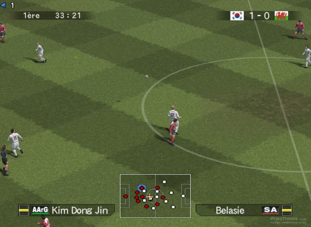 Скриншот к игре Pro Evolution Soccer 5