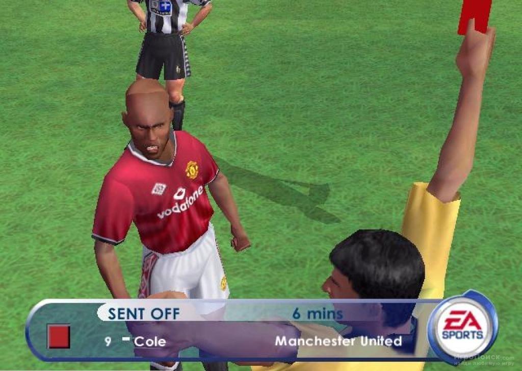 Скриншот к игре FIFA 2001