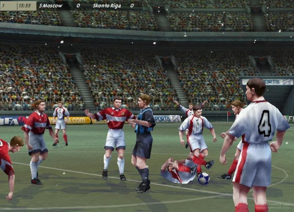 Скриншот к игре FIFA 99
