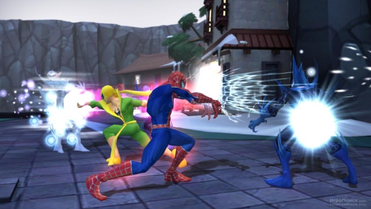 Скриншот к игре Spider-Man: Friend or Foe