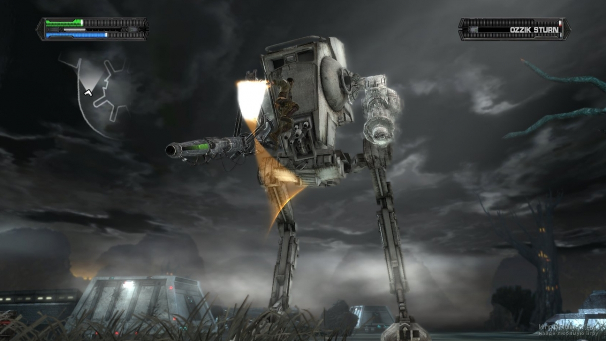 Скриншот к игре Star Wars: The Force Unleashed