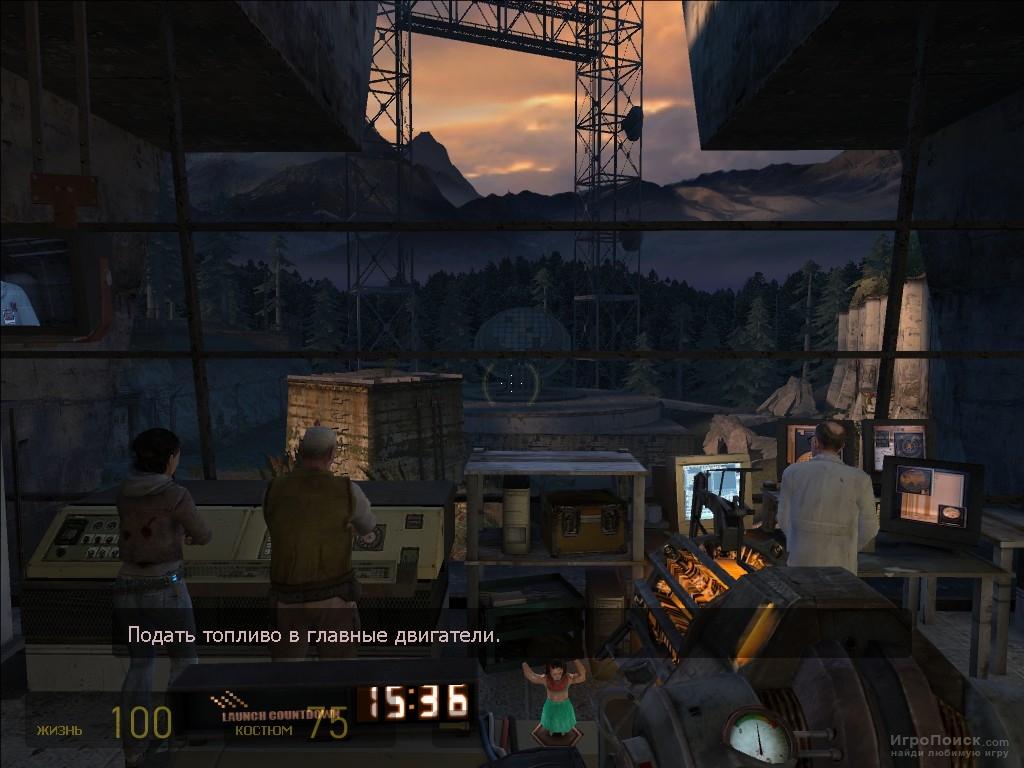 Скриншот к игре Half-Life 2: Episode Two