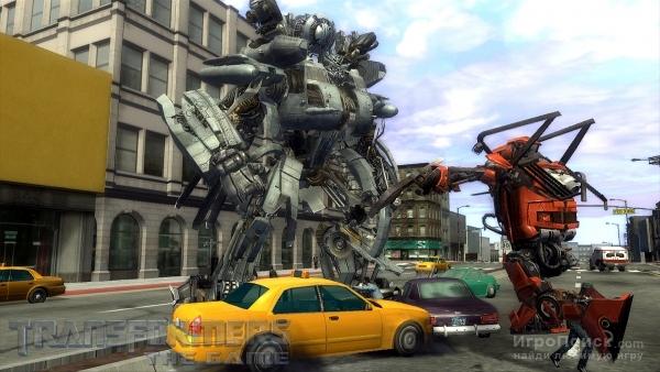 Скриншот к игре Transformers