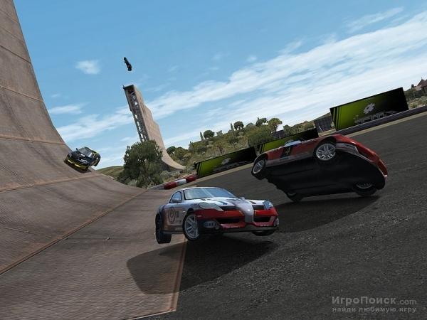 Скриншот к игре TrackMania United