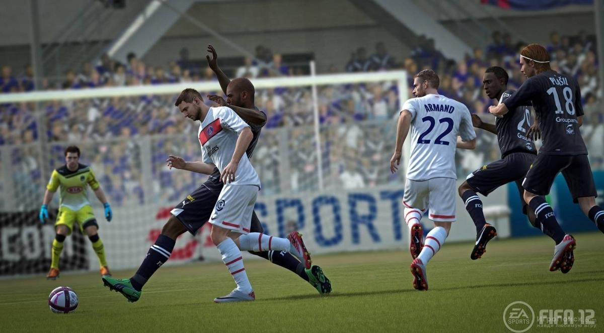 Скриншот к игре FIFA 12
