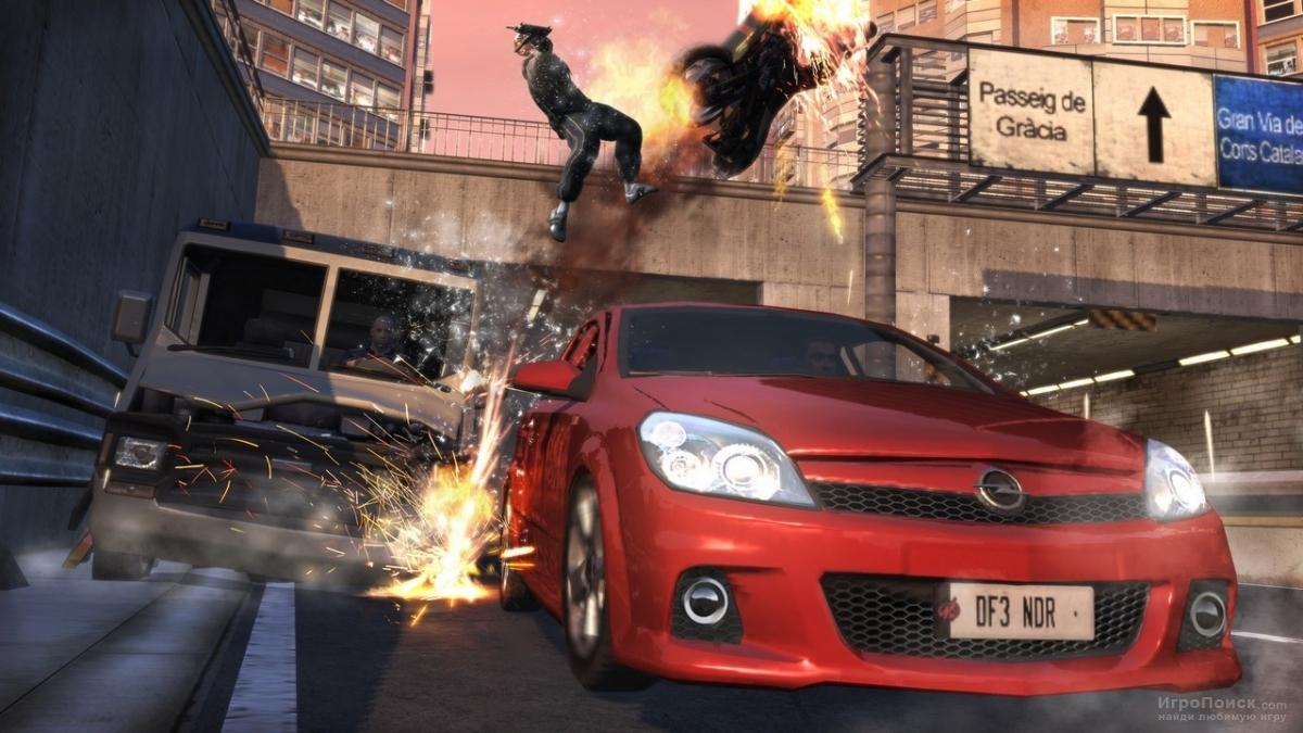Скриншот к игре Vin Diesel: Wheelman