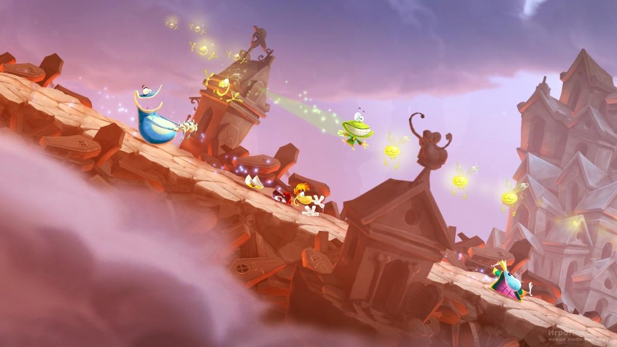 Скриншот к игре Rayman Legends